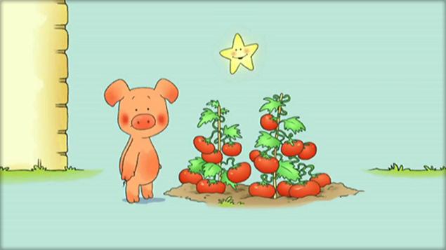 Diabolo, le petit cochon rigolo