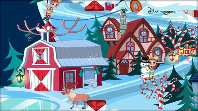 Surprise pour le père Noël