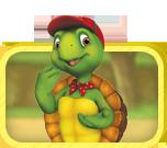 Les aventures de la plus sympa des tortues!