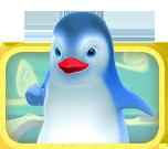 Les aventures de cinq joyeux pingouins.